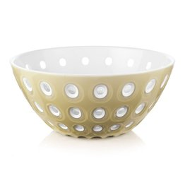 Le Murrine Bowl, Sand/White/Transparent