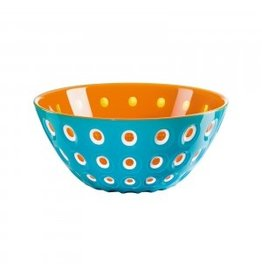 Le Murrine Bowl, Blue/White/Orange
