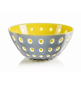 Le Murrine Bowl, Grey/White/Yellow
