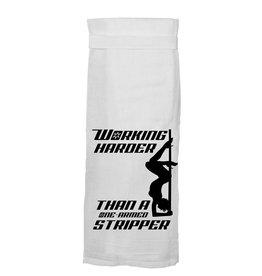 Working Harder Towel