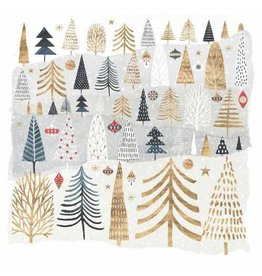 Paper Products Design MOUNTAIN FOREST GUEST TOWEL