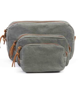 Uashmama BEAUTY CASE-MEDIUM DARK GREY