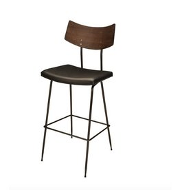 SOLI BAR STOOL   BLACK