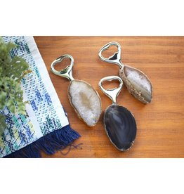 Rock Paradise Agate Bottle Opener