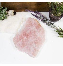 Rock Paradise Rose Quartz Stone Platter