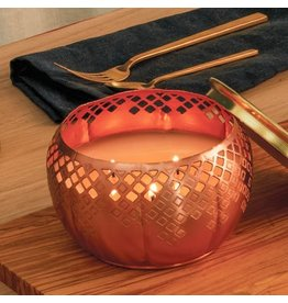 HEIRLŪM PUMPKIN COPPER 3-WICK CAND