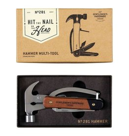 Hammer Multi-tool, Wood & Stainless Steel Handle