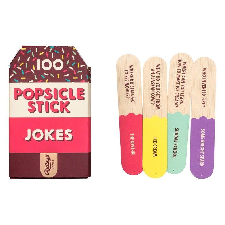 100 Popsicle Stick Jokes