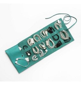 Travel Cord Roll-Turquoise