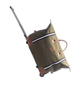 Original Trolley Rolling Duffel-Green