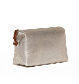 Croft Dopp Kit- Bright Silver