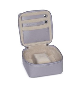 Eva Travel Jewelry Box-Grey