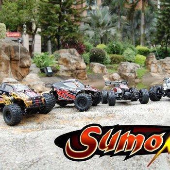 redcat Sumo RC 1/24 Scale Truggy-black