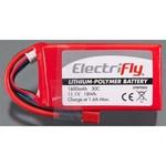 LiPo 3S 11.1V 1600mAh 30C Elctrfly w/Ult Plug