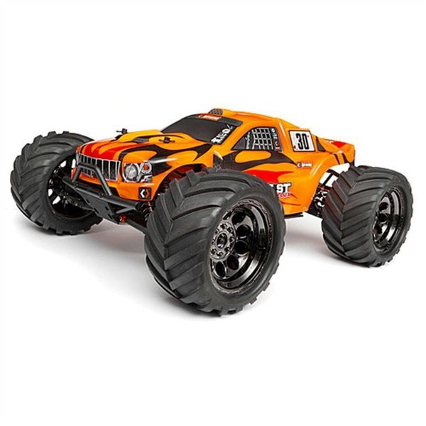 HPI 101660 Trimmed/Painted Bullet Flux ST Body w/Hlex Decal