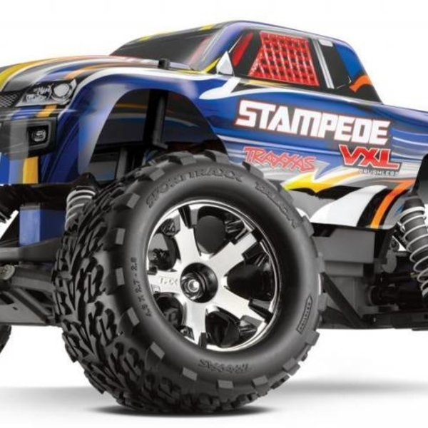 Traxxas 3607 1/10 STAMPEDE VXL RTR 2.4