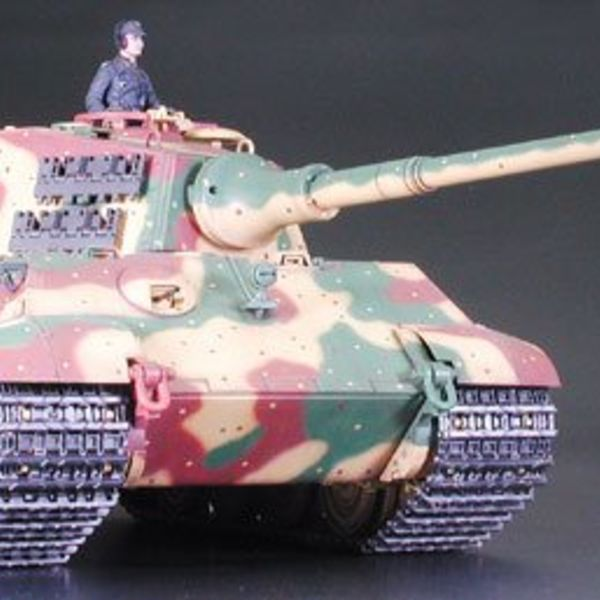 academy german king tiger model