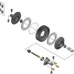 mip MIP Super Diff Kit, Traxxas Slash 2WD