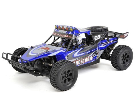 light scale nitro rc truck with Redcat Sandstorm   1 10 Scale Electric Baja Truck on 200002650 further Traxxas Slash Short Course 4wd Rtr Tra68086 4 Mark Jenkins in addition Proline Racing Pro3430 00 2014 Chevy Silverado Cle additionally Steering Parts Diagram For Rc Cars together with 41p Baja Head Light Green.