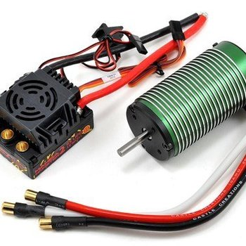 Castle Creations 1/8 Mamba Monster 2 25V Extreme Car ESC/2200 Combo