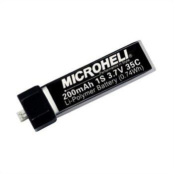 Micro Heli Company 35C 3.7V 200mAh LiPo Battery, Heli