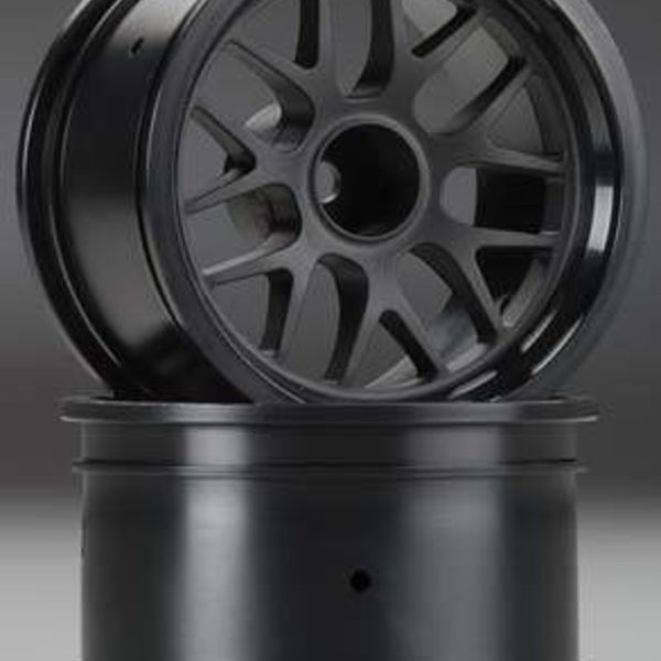 HPI 109155 BBS Spoke Wheel 48x34mm Black 14mm Offset (2)