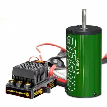 Castle Creations Sidewinder 8th ESC + 2200kV