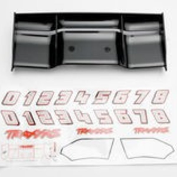 Traxxas REVO WING BLACK, INCLUDES DECA