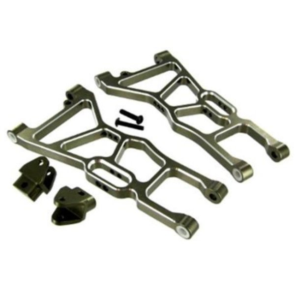 redcat Aluminum Front Lower Suspension Arms and Shock Mount Tabs ~