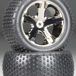 Traxxas 2.8 ALIAS TIRE W/ALL-STAR BK CHROME ELECTIRC RR ( 2)