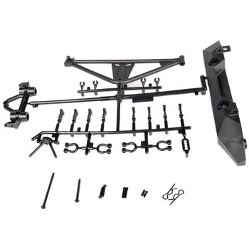 axial AX80126 Rear Bumper/Tire Carrier SCX10/Poison Spyder/JK