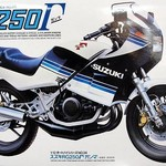 Tamiya 14024 1/12 Suzuki RG250 Motorcycle Re-Release