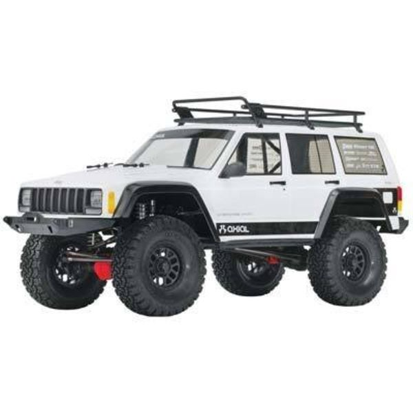 "axial AX31337 2000 Jeep Cherokee Body .040"" Clear Body Only"