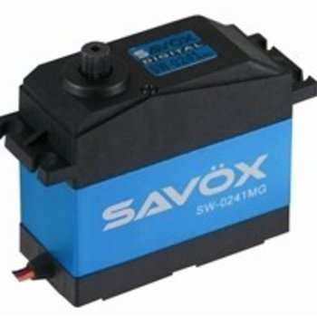 SAVOX WATERPROOF 5TH SCALE DIGITAL SERVO .17/555 HIGH VOLTAGE
