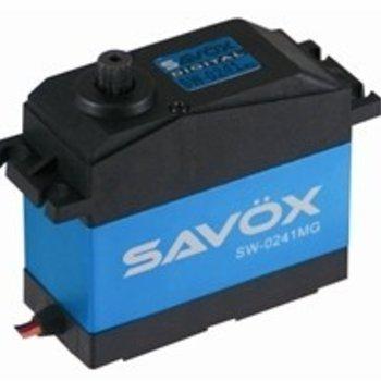 SAVOX WATERPROOF 5TH SCALE DIGITAL SERVO .17/555 HIGH VOLTAGE
