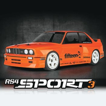 HPI 114343 RS4 Sport 3 RTR w/BMW M3 E30 Body