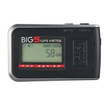 HCA Pro Series Big 5 GPS Meter Speed Altitude Distance Time