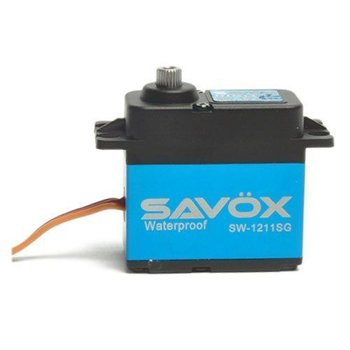 SAVOX WATERPROOF CORELESS DIGITAL SERVO .15/277.7 ALUMINUM CASE