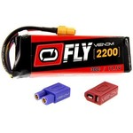 25077 LiPo 3S 11.1V 2200mAh 30C X-Plug Fly