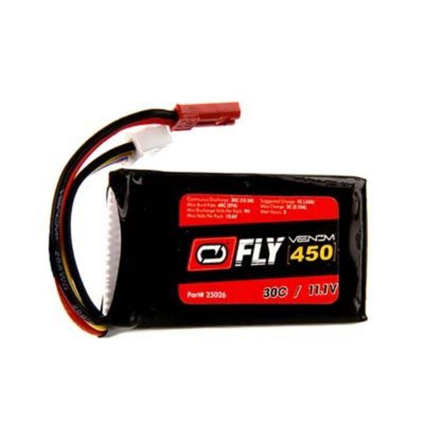 VNR 25026 LiPo 3S 11.1V 450mAh 30C JST Fly