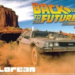 011874 1/24 DeLorean From Back to the Future III