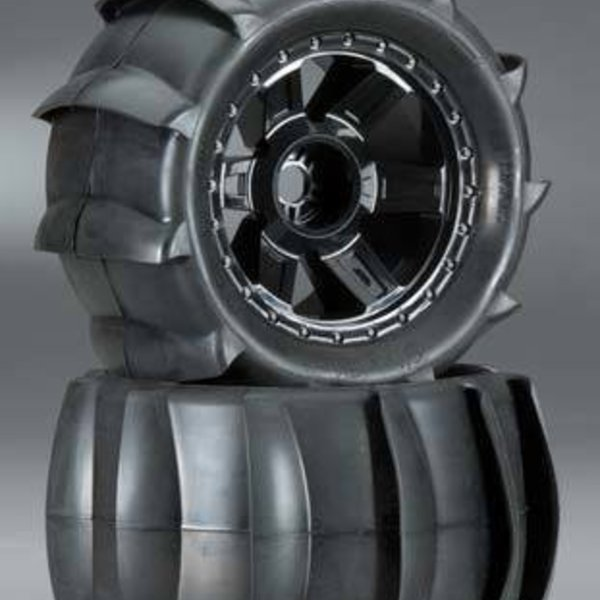 "1179-11 Sling Shot 3.8"" Sand Tire Mounted 17mm Fr/Re"