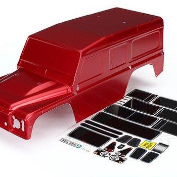 TRA8011R TRX4 DEFENDER BODY RED