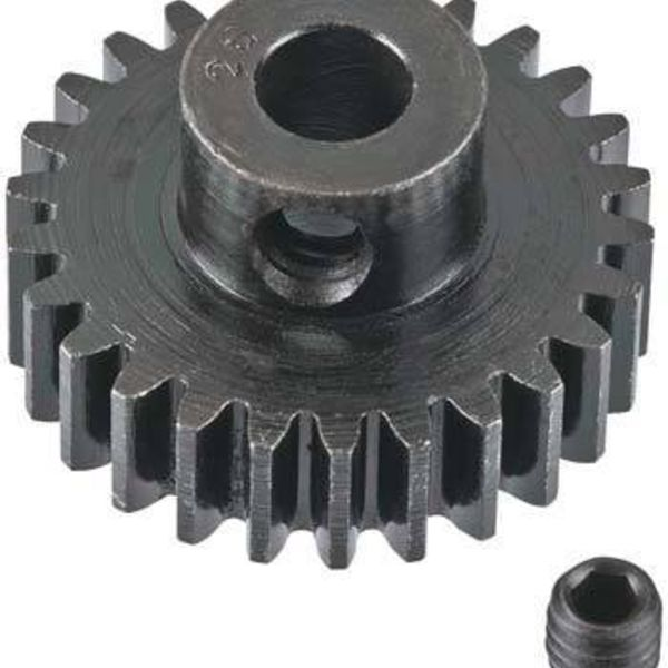 Extra Hard 26T Blackened Steel 32P Pinion 5mm