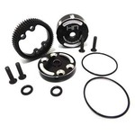 HOT RACING TE38CH Sealed Aluminum Diff Case TRA 2WD Electric