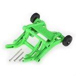 Traxxas 3678A WHEELIE BAR ASSM GREEN
