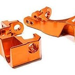 Integy Billet Machined Caster Block for traxxas 1/10 Slash 4x4