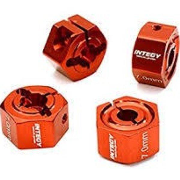 Integy 12mm Hex Wheel (4) Hub 7mm Thick