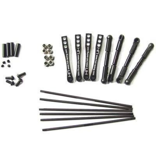 HOT RACING WRA311X01 Full Set Sway Bar Kit Wraith Rock Racer