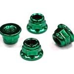 Integy Steel M4 Size Color Wheel Nut 4pcs Set